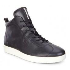 Ботинки Ecco-Soft 1 шн.черн.400524-01001