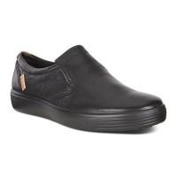 Туфли Ecco-Soft 7 без шнурка. черный.430034-11001