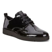 Туфли Ecco-Bella лак. шнурок.282043-04001