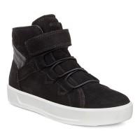 Ботинки Ecco- S 8 лип.черн.подрост. 701063-01001