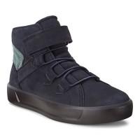 Ботинки Ecco-S 8 лип.син.подрост.701063-51117