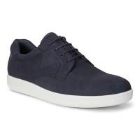 Туфли Ecco-Soft 1 синий. гладк.400574-02303