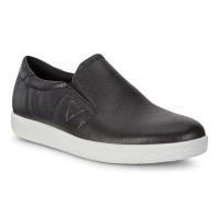 Туфли Ecco-Soft 1 б/шнурков.черный.400564-01001