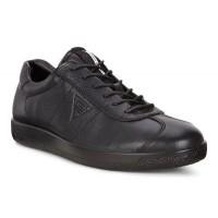 Туфли Ecco-Soft 1 шнурок.черный.400514-01001