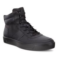 Ботинки Ecco-Soft 8 кайма черн.440864-01001