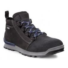 Ботинки Ecco-Oregon (gore-tex) гладк.черн.826014-51052