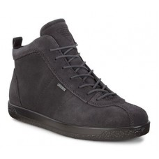 Ботинки Ecco-Soft 1 (gore-tex) шн.серый.400663-05308