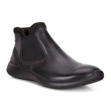 Ботинки Ecco-Soft 5 рез.черн. 283103-53859