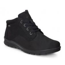 Ботинки  Ecco-Babett шн.низк.черн.215613-12001