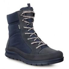 Ботинки Ecco-Babett шн.выс.синий.215553-50642