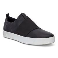 Туфли Ecco-Soft 8 резинка.черн.440673-01001