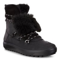 Ботинки Ecco-Soft 7 TRED шн.черн.450153-51052