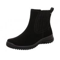 Ботинки Legero-Soft Boot змейка.черн.