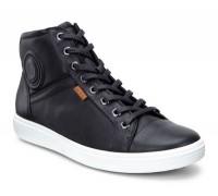 Ботинки Ecco-Soft 7 шн.женск.черн. 430023-01001