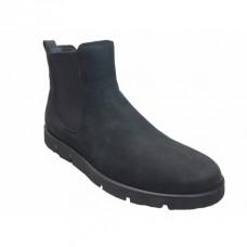 Ботинки Ecco-Bella рез.нубук.черн.