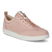 Туфли Ecco-Soft 1 дырк.розов. 400533-02118