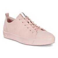Туфли Ecco-Soft 8 шнурки.розовый.440503-11118