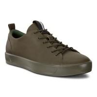 Туфли Ecco-Soft 8 шнурок.оливка. 440504-01076