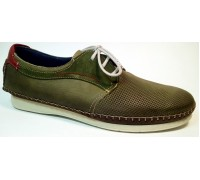 Туфли Fluchos-Comodo шн.зелен.