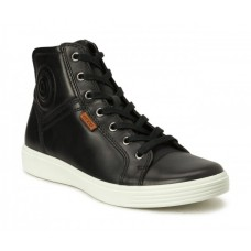 Ботинки Ecco-S 7 шн.черн/бел.780003-02001