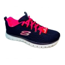 Кроссовки Skechers-Get син/роз.